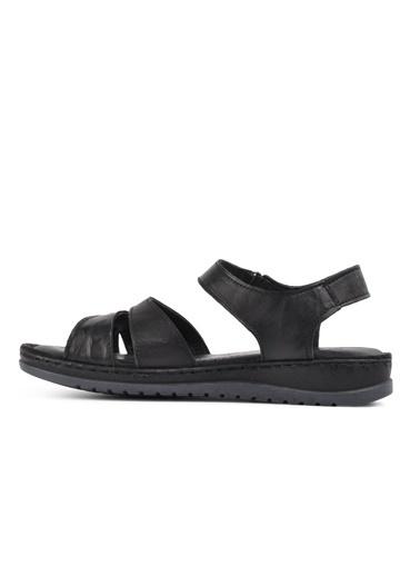 Castle Black 21313 Siyah Kadın Sandalet Siyah